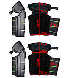 Наколенники зимние ветрозащитные для мотоцикла, велоспорта с светоотражателями Eco-obogrev, фото 3