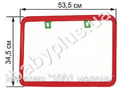 Доска для рисования двухсторонняя. Kinderway KW-51-002
