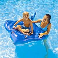 Надувной детский плотик Большой Скат Intex 57550