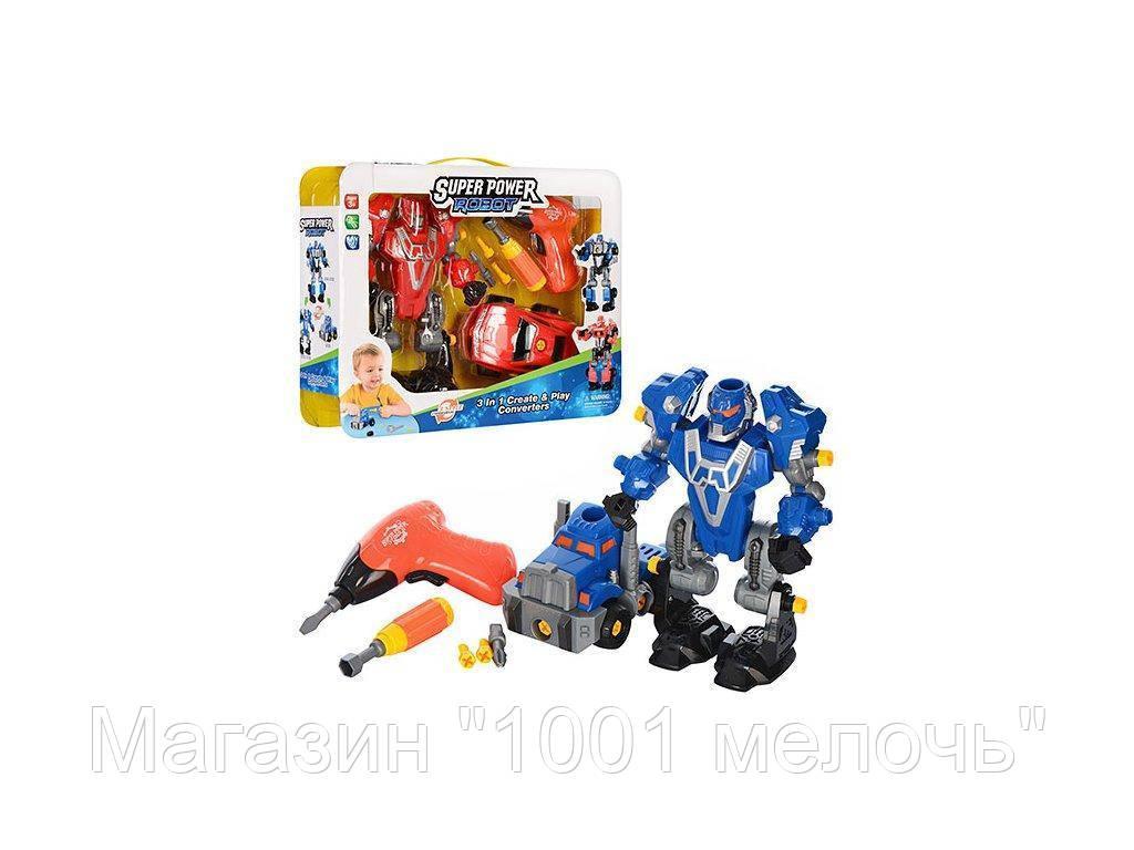Конструктор Робот+ машинка. 1501-02