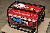 Генератор бензиновый 3-х фазный Германия Powertech PT6500W 4,5 кв, фото 1