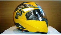 Шлем - трансформер BLD N-156 желтый
