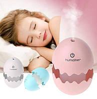 """Увлажнители воздуха """"Яйцо"""" (белый,голубой,розовый)"""