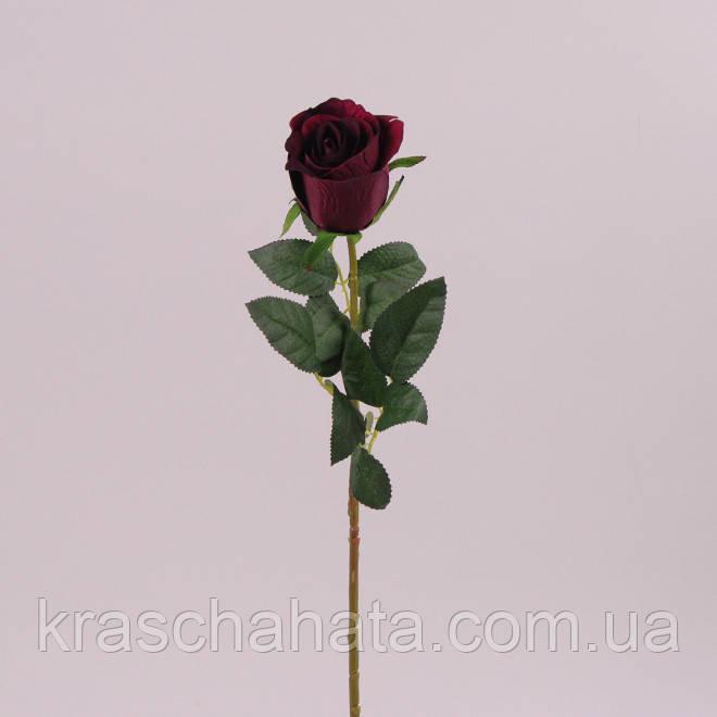 Роза, бутон, Н62 см, Искусственный цветок, Днепр