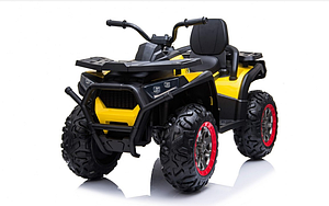 Электромобиль квадроцикл ATV Desert Yellow