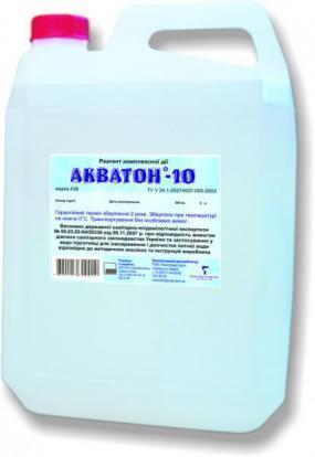 Дезинфицирующее средство 5л  «Акватон-10» марка А 30
