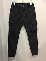 Коттоновые брюки для мальчика 6/7(134)-13/14(158) см, фото 1