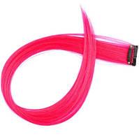 Пасмо 1 кліпса яскраво-рожева