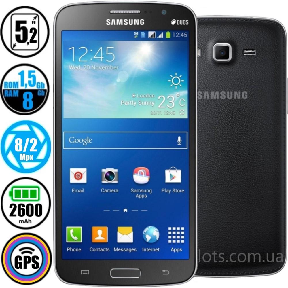 Смартфон Samsung Galaxy Grand 2 Duos G7102 Black (Оригинал) + Подарок Защитное Стекло