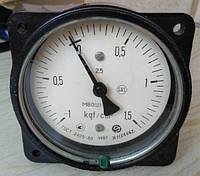 Мановакуумметр МВОШ1-100 -1...0.6 кгс (-100кПа...60кПа)