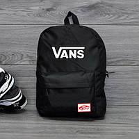 Рюкзак молодежный Vans of the Wall, Ванс. Черный. Стильный / V1001, фото 1