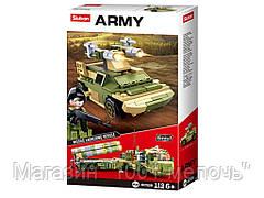 Конструктор Военная техника. SLUBAN M38-B0782B. 119 деталей
