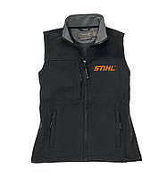 Жилет Stihl Softshell черно-оранжевый (04635924704)