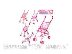 Кукольная коляска металлическая. M 0349 U/R