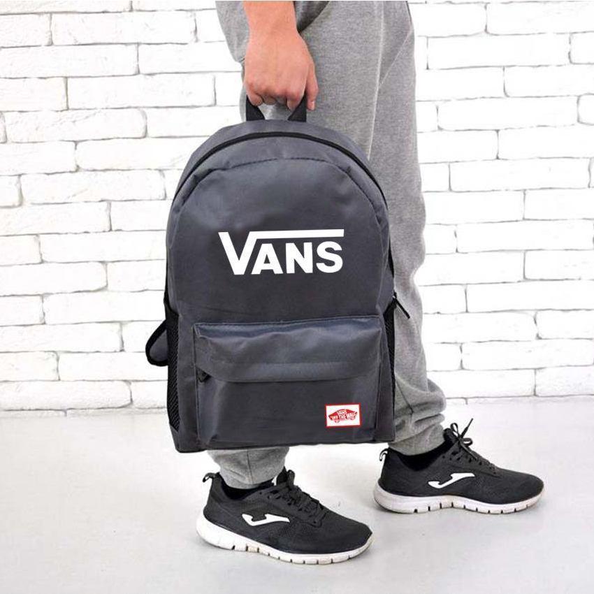 Рюкзак Vans of the Wall, Ванс. Серый / V1003