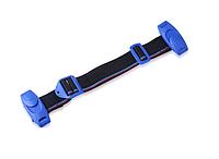 Вспомогательный ремень безопасности SUNROZ Car Child Safety Belt для детей в автомобиль Черно-Красный