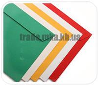 Цветные конверты Е65 (треугольный клапан)
