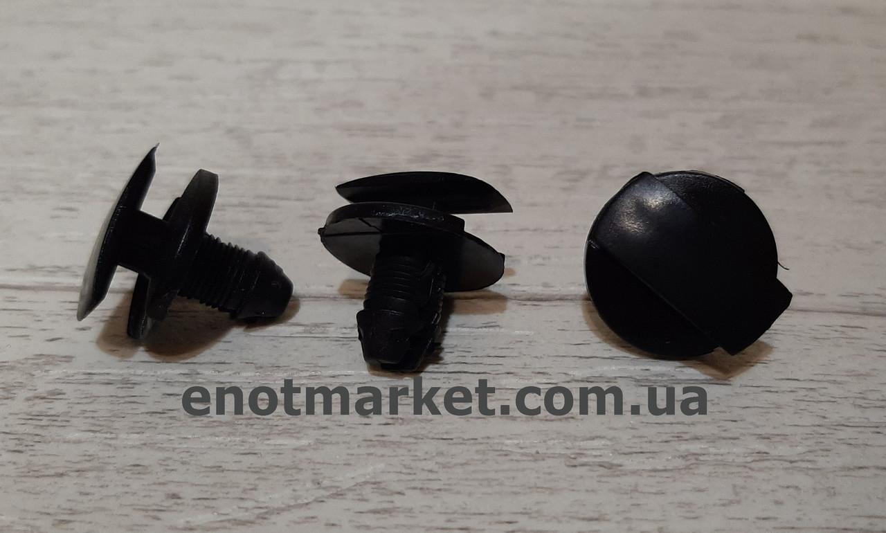 Крепление защиты моторного отсека Citroen много моделей. ОЕМ: 856553, 9648975680, 1609267280