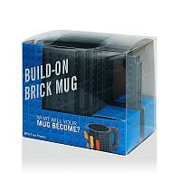 Кружка Лего Lego чашка конструктор 350мл BUILD-ON BRICK MUG Minecraft Код 13-0585