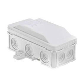 Коробка распределительная IP54 90x45x40 Pawbol 6410-10 (накладная, защелки, 12 отв.)