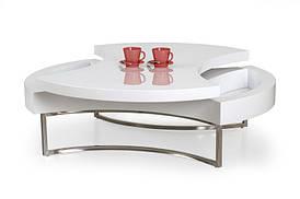Журнальный стол AUREA белый (115х80х38) Halmar