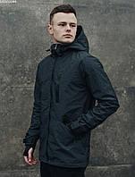 Куртка мужская фирменая Staff snou grafit