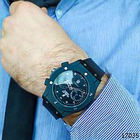 Часы мужские . Мужские наручные часы черные. Часы с черным циферблатом Годинник чоловічий
