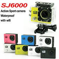 Экшн камера SJ 6000 Full HD 1080P WiFi Lcd 2.0 Waterproof