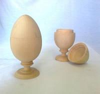 Шкатулка Яйцо 12х6 см дерево заготовка для декора