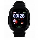 Детские смарт часы Q90 Gsm, sim, Sos,Tracker Finder Smart Watch Черные, фото 6