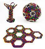 Неокуб NeoCube Радуга Разноцветны 5мм 216 шариков, фото 7