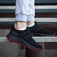 Мужские кроссовки в стиле Супра Хуарачы черные \\Обувь без бренда