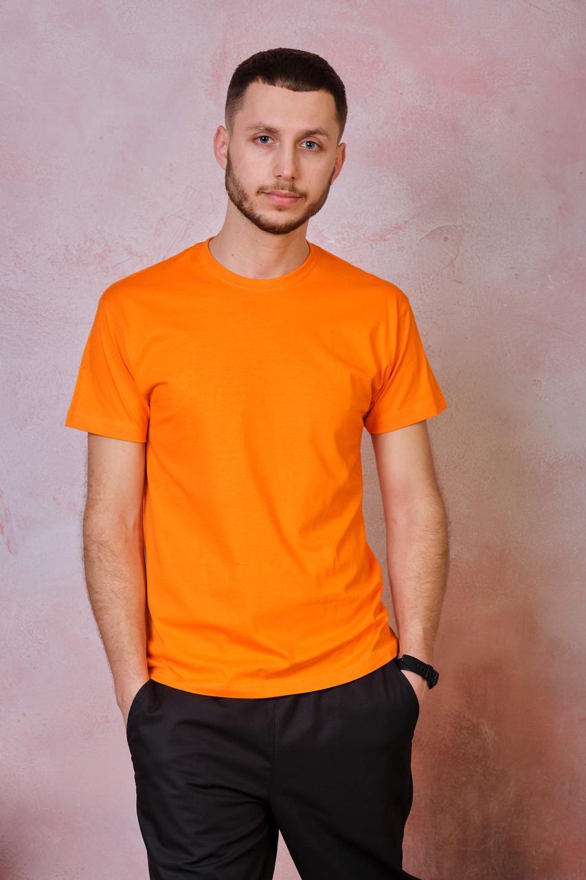 Мужская эластичная футболка JHK SPORT T-SHIRT цвет оранжевый (OR)