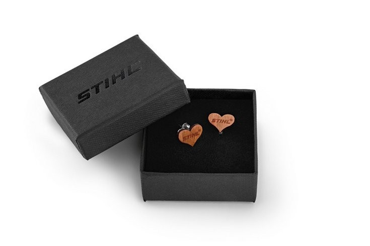 Деревянные серьги Stihl (04641770000)