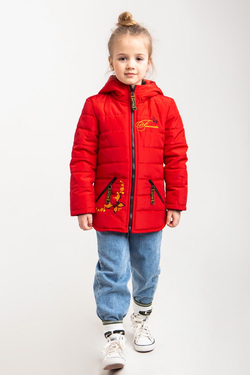 Куртки дитячі на осінь для дівчинки HL 212