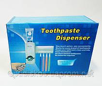 Дозатор для зубной пасты с подставкой для щеток, Toothpaste Dispenser, фото 2