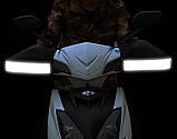 Зимние перчатки-чехлы на руль велосипеда, мотоцыкла, мопеда, ветрозащитные, снегозащитные Eco-obogrev P-moto, фото 2