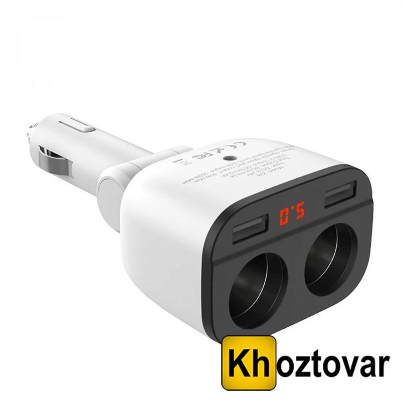 Автомобильное зарядное устройство Hoco Z28