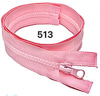 Блискавка Рожевий №5 50см тракторна одинарна роз'ємна