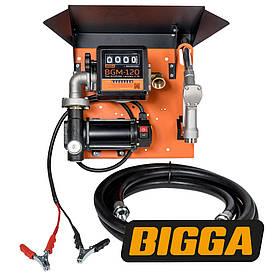Bigga Gamma DC60-12 - Мобильная заправочная станция для дизельного топлива с расходомером, 12 вольт, 63 л/мин