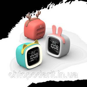 Умные часы будильник ночник Код 13-7777