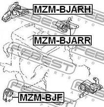 Подушка двигуна передня MAZDA PREMACY (CP) / MAZDA 323 S VI (BJ) 1998-2005 р.