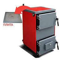 Твердотопливный котел ЮТА БП 15 кВт с варочной плитой
