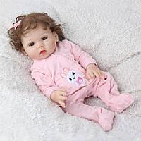 Кукла реборн 45 см полностью виниловая девочка Инна