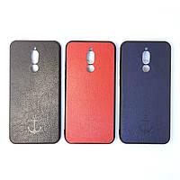 Чехол силиконовый  для Xiaomi Redmi 8 | Leather case