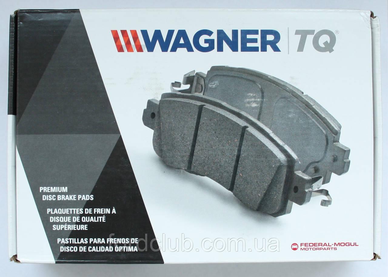 Передние колодки Ford Fusion USA, Wagner QC1653 Ceramic для всех комплектаций