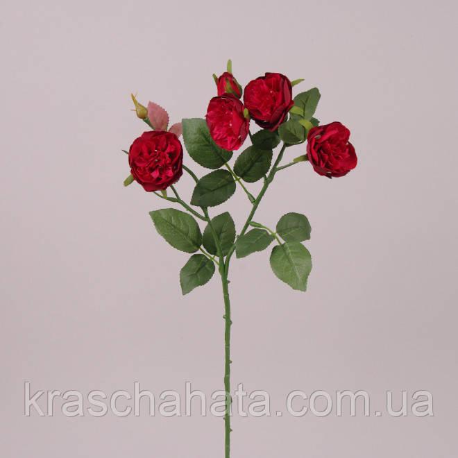 Роза ветка, бутон 5 шт, светло-фиолетовый, Искусственный цветок, Днепр