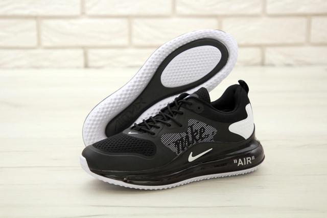 Мужские кроссовки Найк Аир Макс 720 черного цвета фото