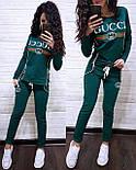 """Женский стильный спортивный костюм весна/очень """"Gucci"""" (расцветки), фото 9"""