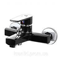 Змішувач  для ванни Plamix Oscar 009 black